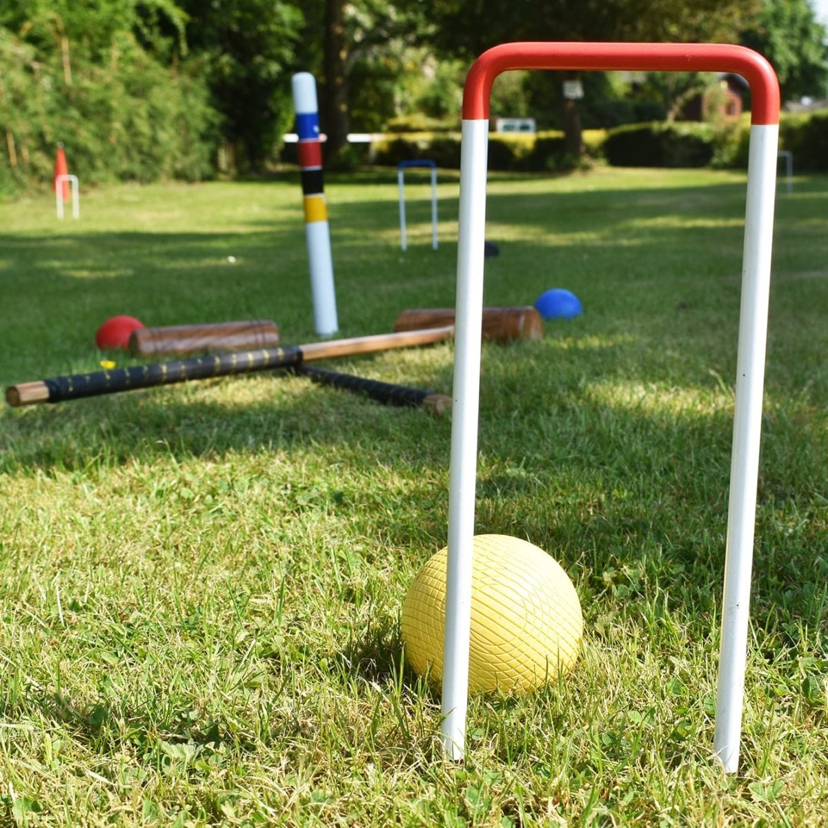 Lincoln Farm Park, Oxfordshire - Croquet Set Hire