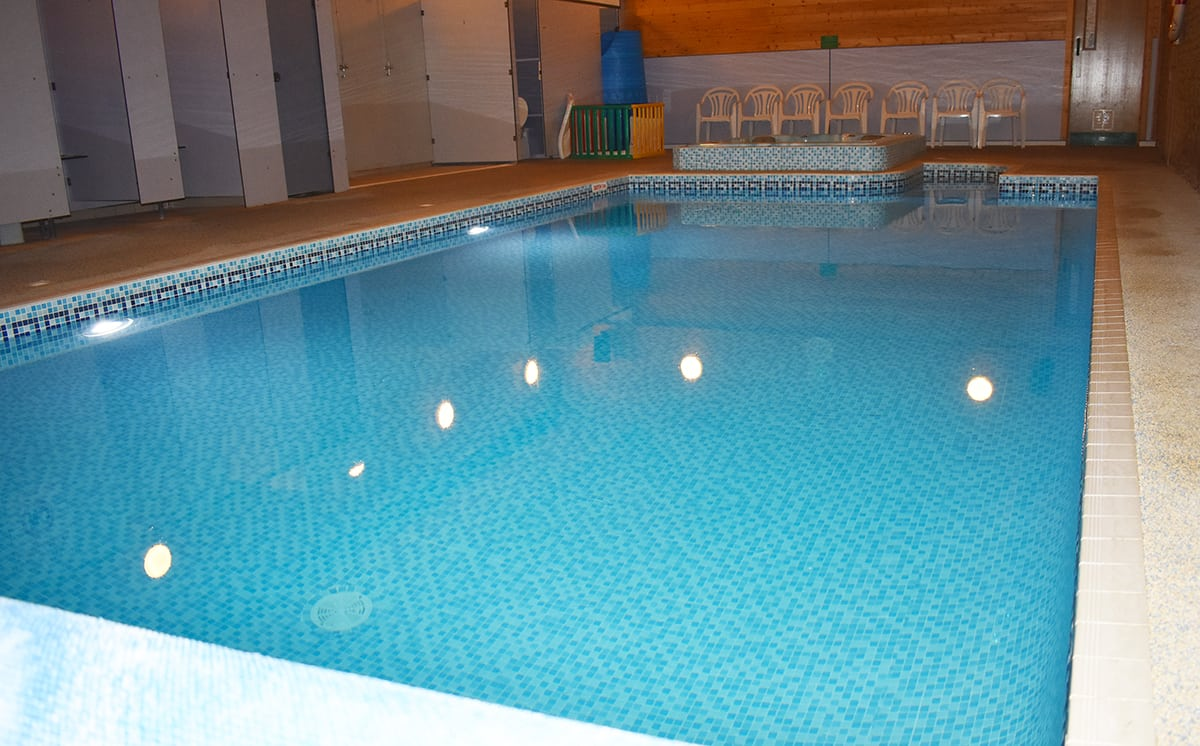 Lincoln Farm Park: Small Swimming Pool