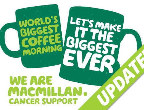 Update – Macmillan Coffee Morning